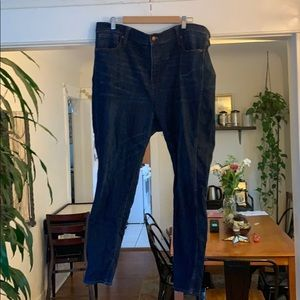 Madewell Size 35t 10 inch high rise skinny jeans